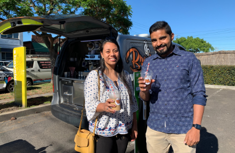 Do you have a function where you'd like the Brave Brew coffee van to come to your workplace or event? With 100% of our proceeds supporting the work of Bayside Community Care, hiring Brave Brew is an easy way to raise funds to help tackle disadvantage and social isolation.
